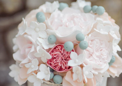 Close up Floral Topper