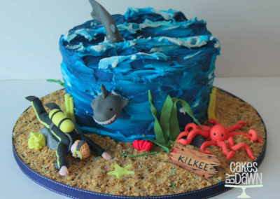 Diving - Birthday Cake