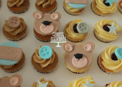 Baby Shower/Christening Mini Cupcakes