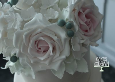 Full Sugar Rose Cake Topper