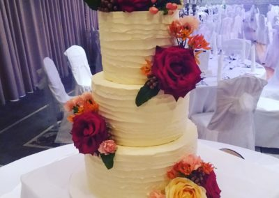Rich Autumnal Florals Buttercream