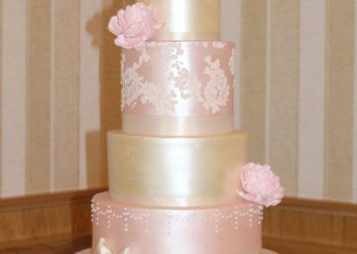 Pink & Gold Shimmer Garryvoe Hotel