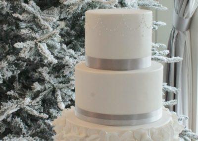 Winter White Ruffle