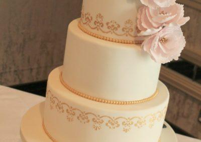 Pink Peonies & Gold Details Maryborough Hotel