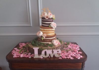 Naked Cake Dromquinna Manor