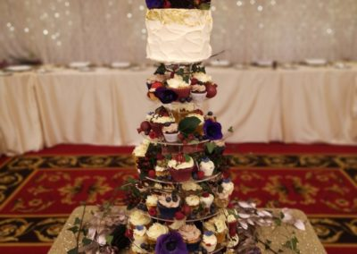 Enchanted Forest Cupcake Tower Dunraven Arms