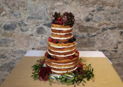 Naked Cake Blackwater Castle