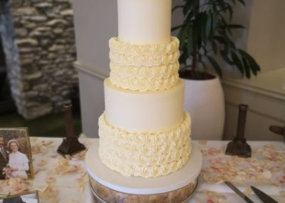 Rosettes & Smooth Buttercream Sheen Falls Lodge